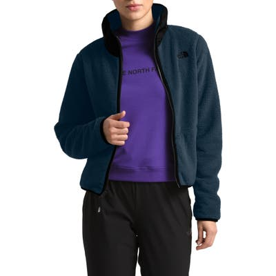 The North Face Dunraven Faux Shearling Jacket, Blue