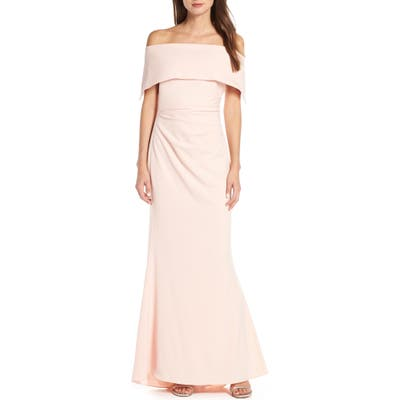 Vince Camuto Popover Gown, Pink