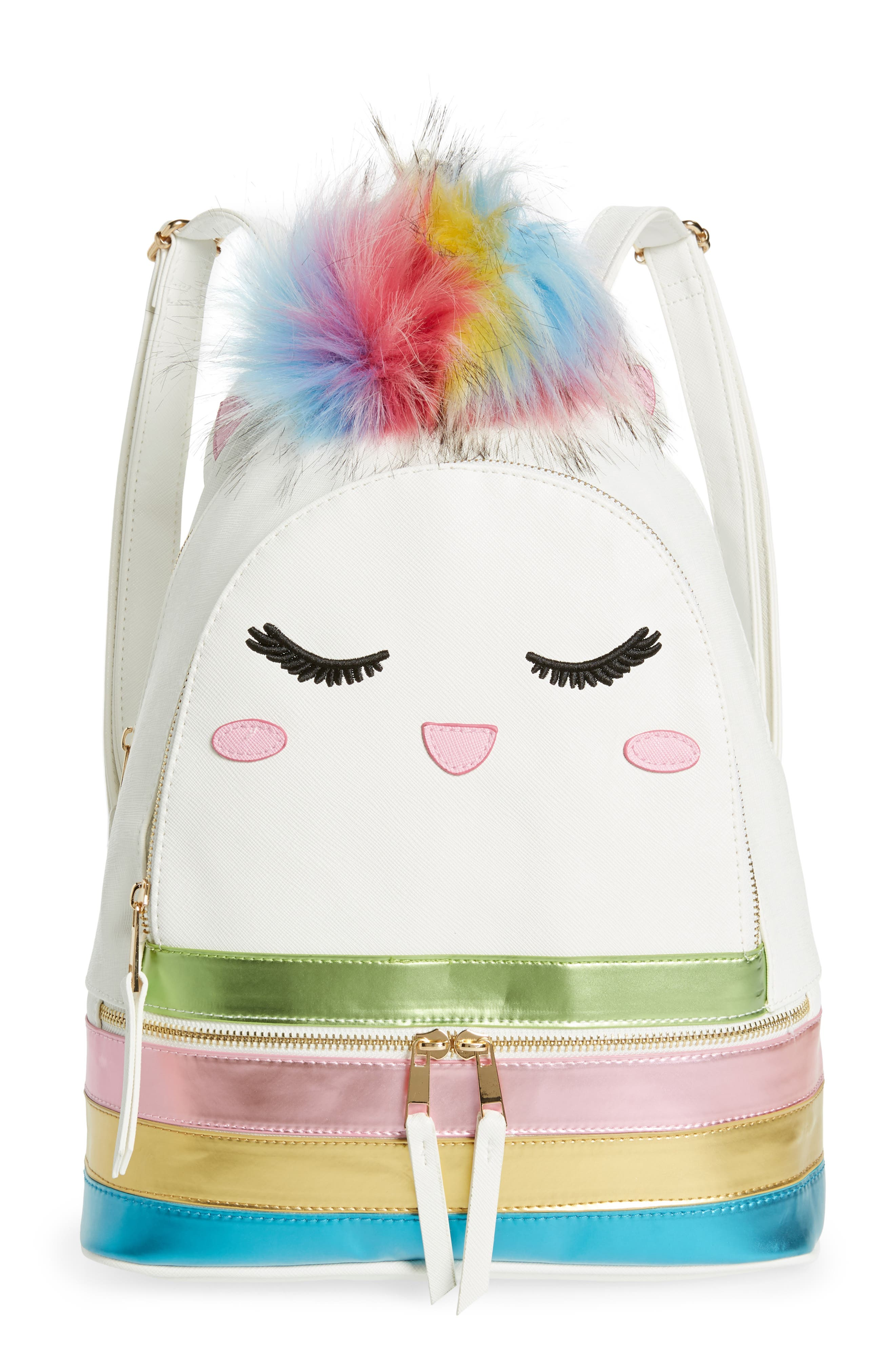 Caticorn Backpack, Main, color, 100