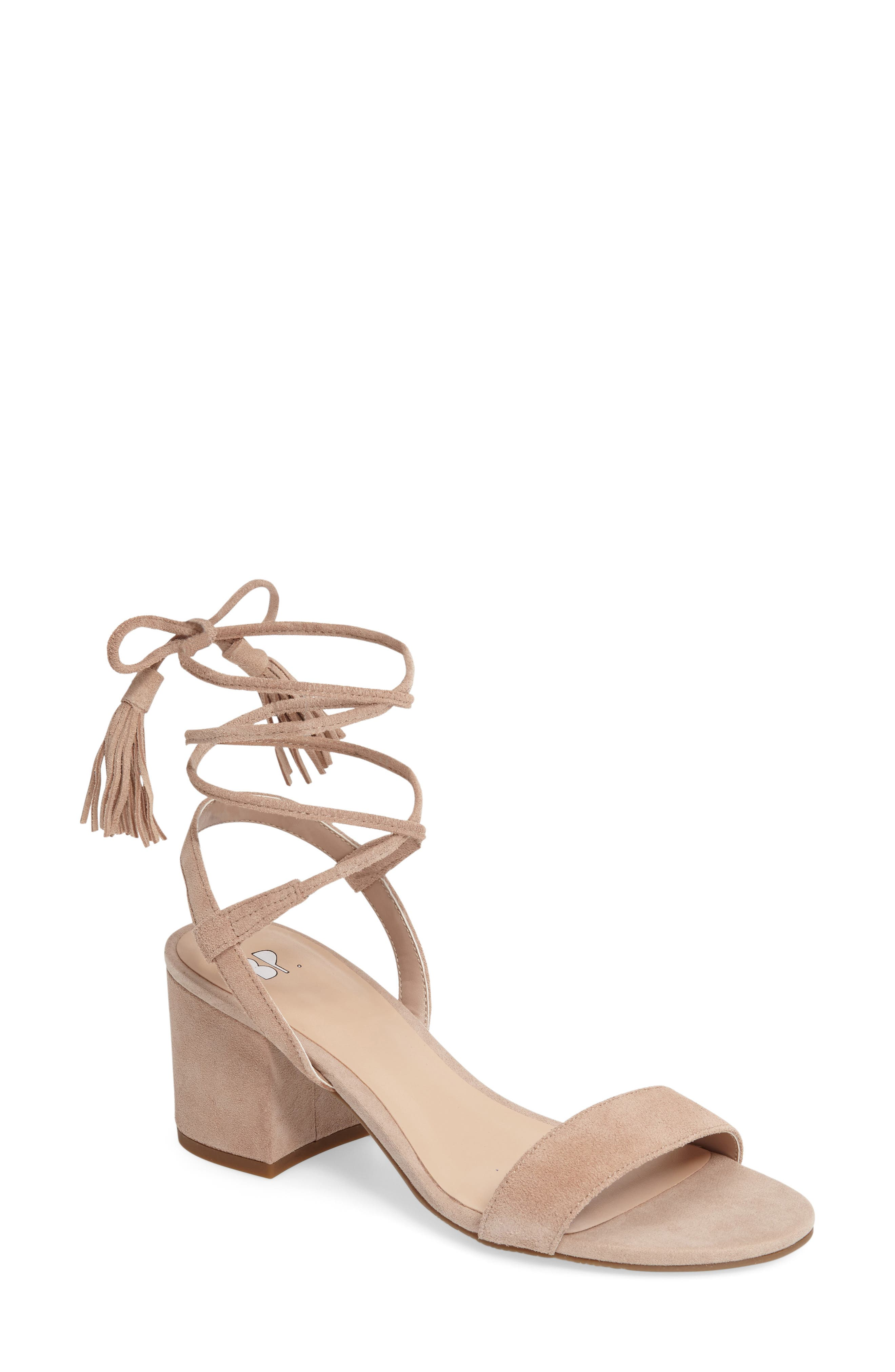 ,                             Karla Block Heel Ankle Wrap Sandal,                             Main thumbnail 11, color,                             651