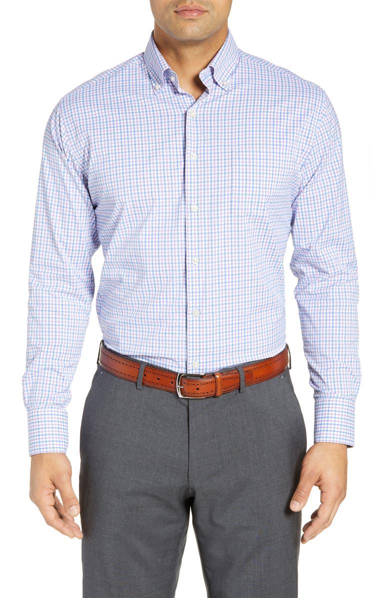 PETER MILLAR Natural Touch Regular Fit Performance Shirt, Main, color, 482