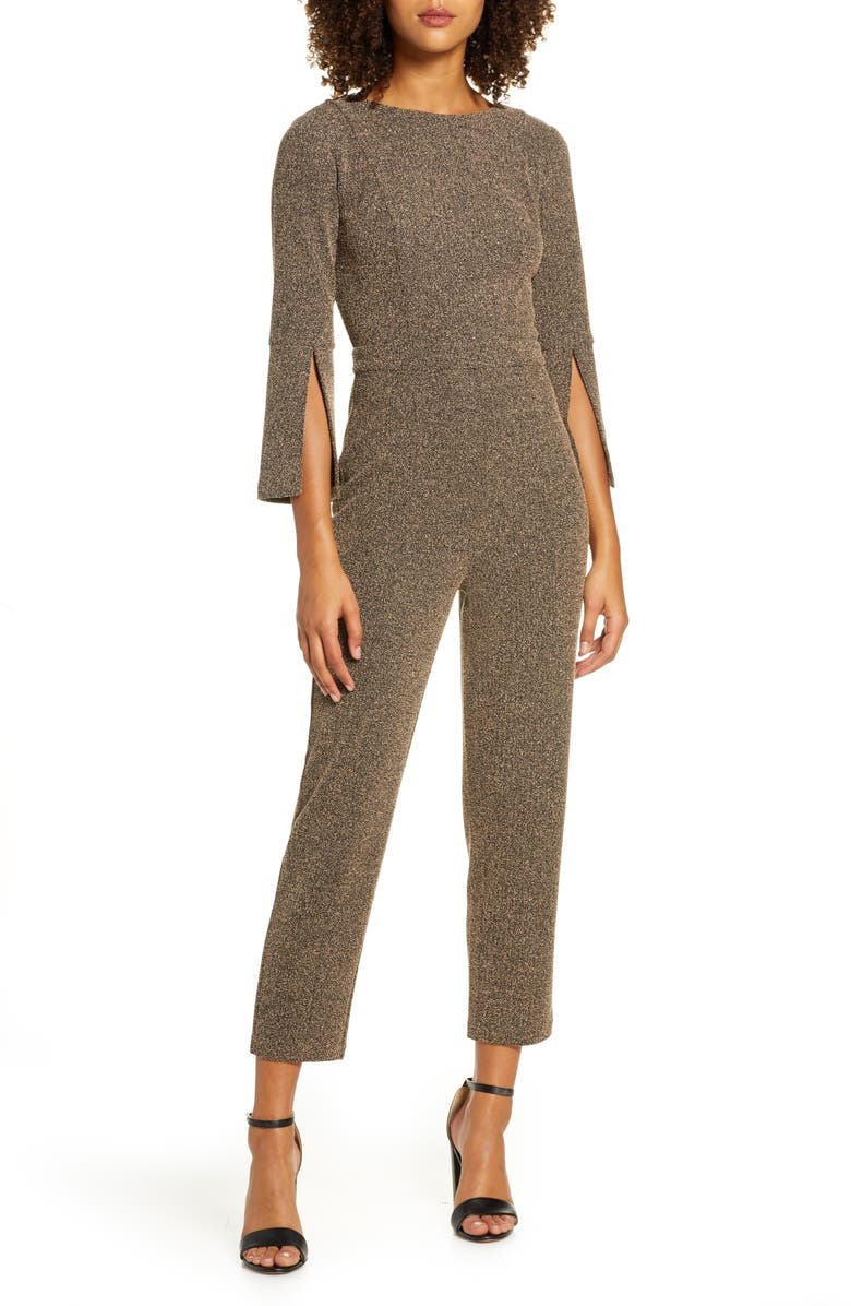 ALI & JAY View from the Top Jumpsuit, Main, color, BLACK/ TAN