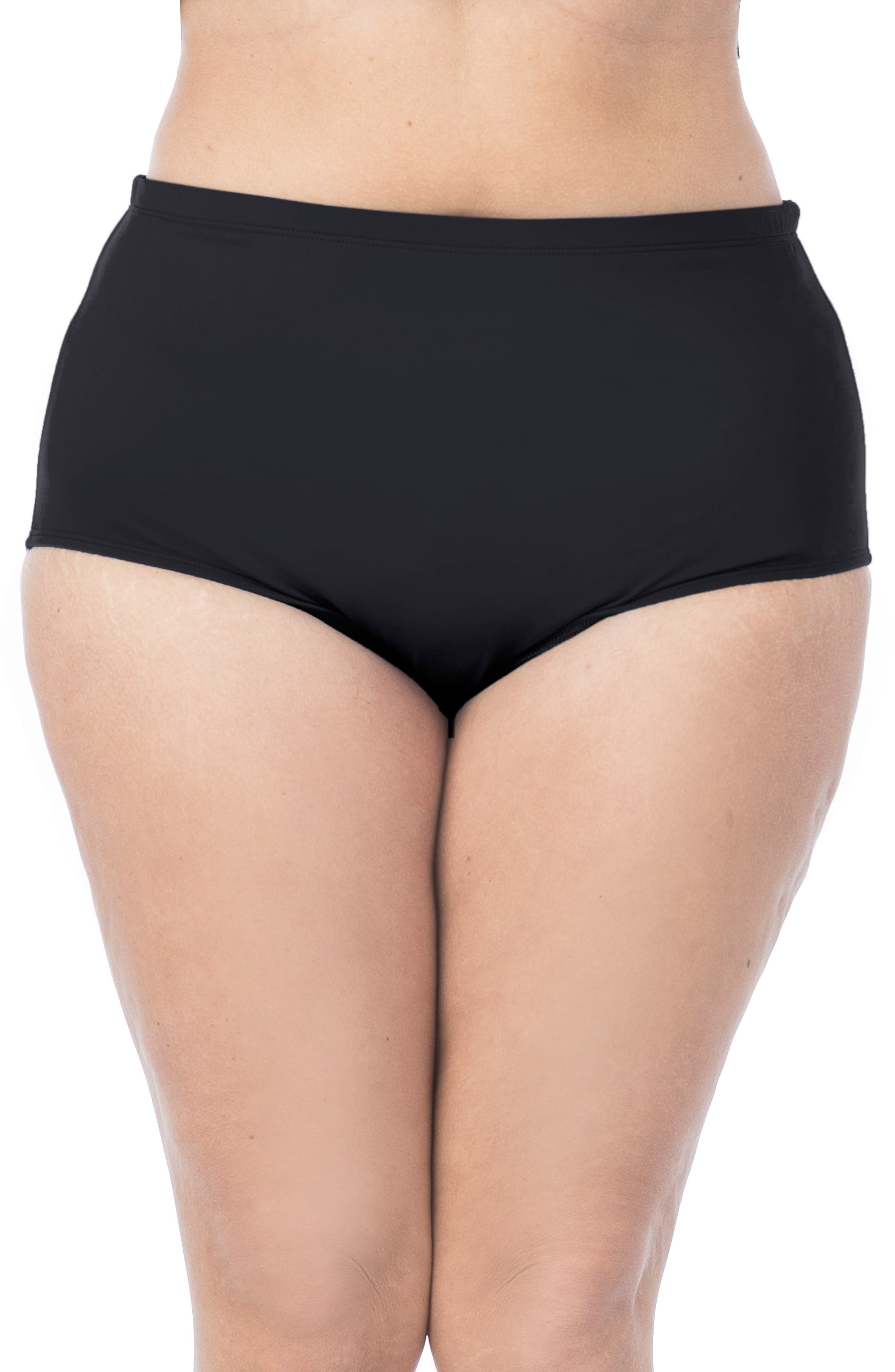 Image of La Blanca Swimwear Island Goddess High Waist Bikini Bottoms
