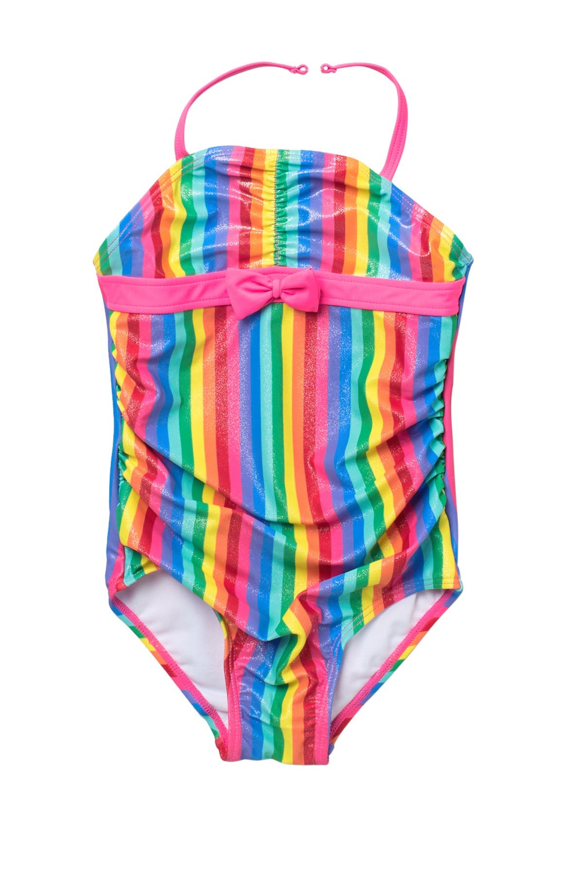 Image of Sol Swim Shimmery Rainbow One-Piece Swimsuit