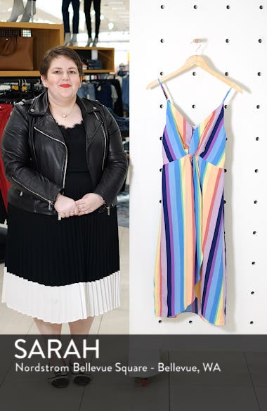 Rainbow Stripe Dress, sales video thumbnail