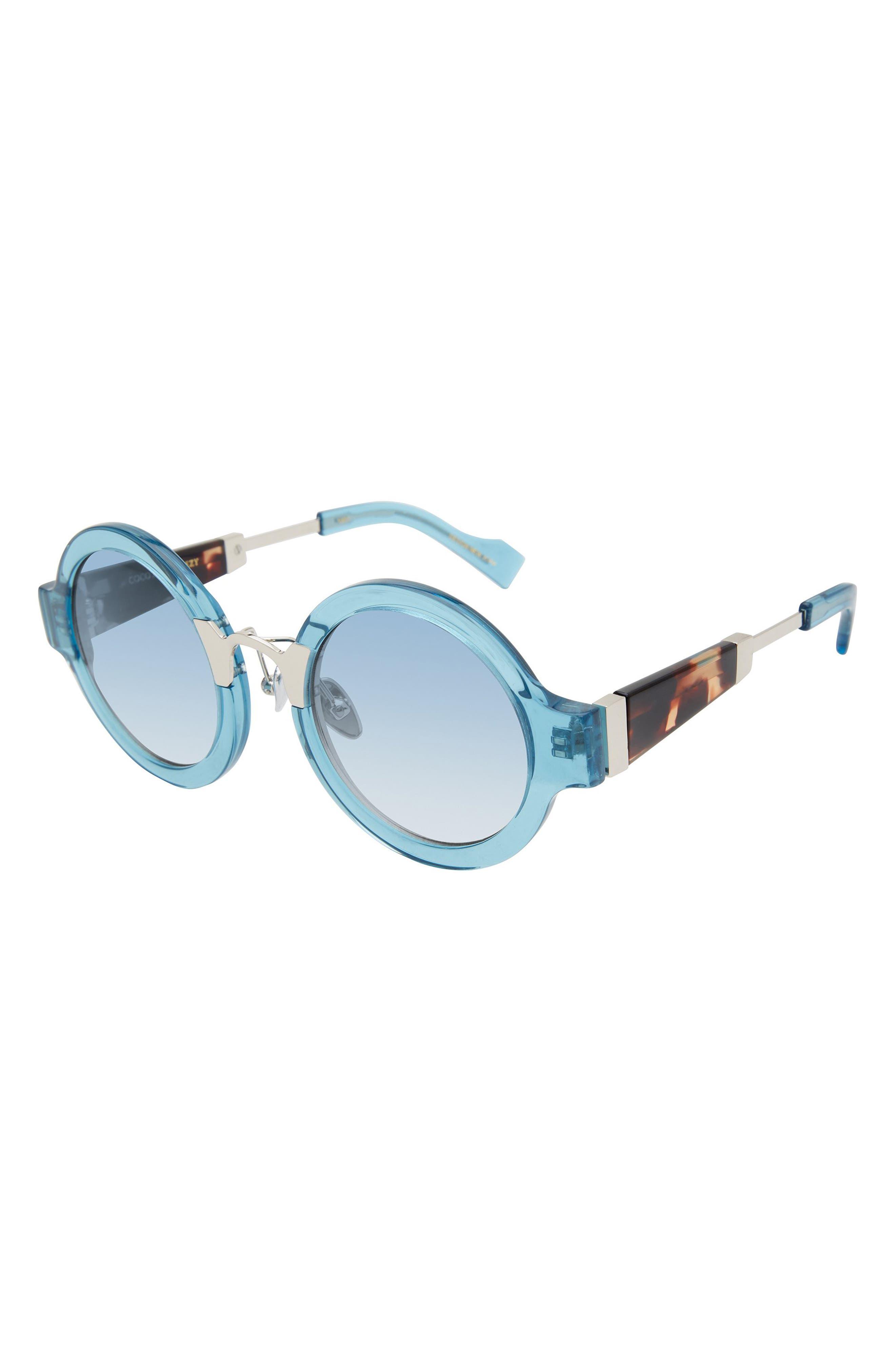 Pram 48mm Round Sunglasses