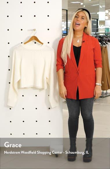 Crop Sweater, sales video thumbnail