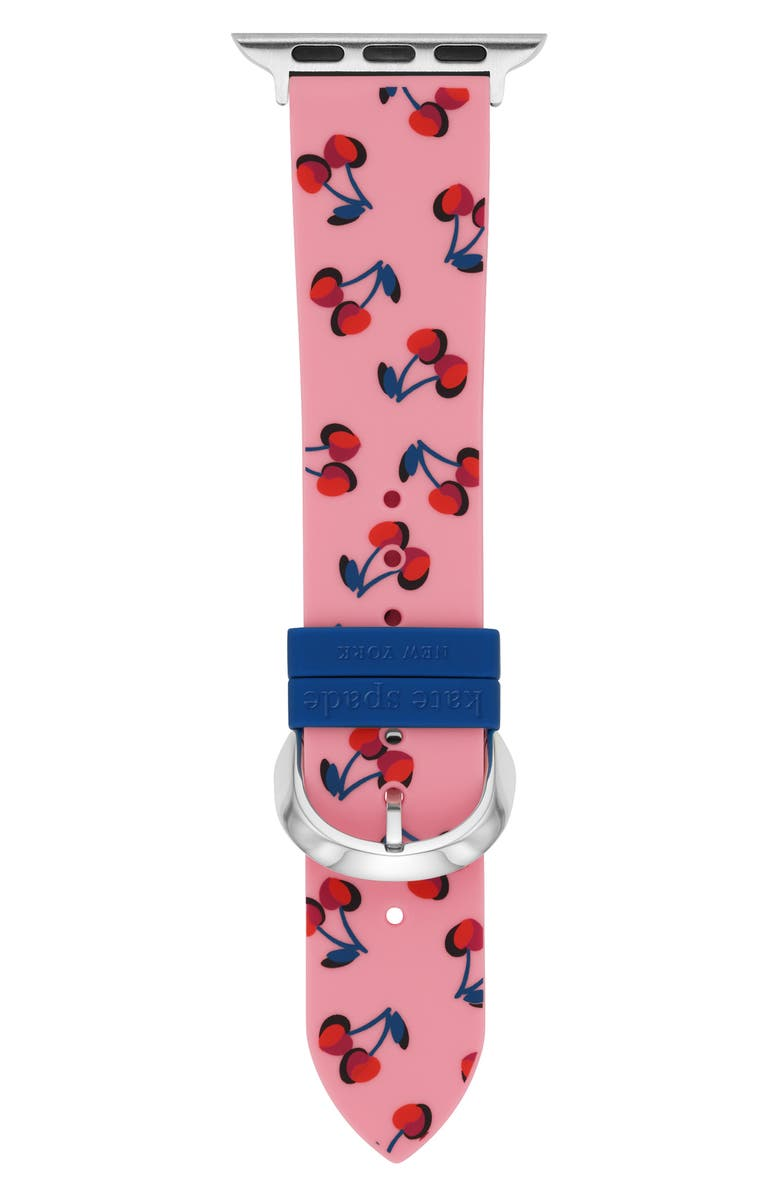 KATE SPADE NEW YORK Apple Watch<sup>®</sup> strap, Main, color, PINK