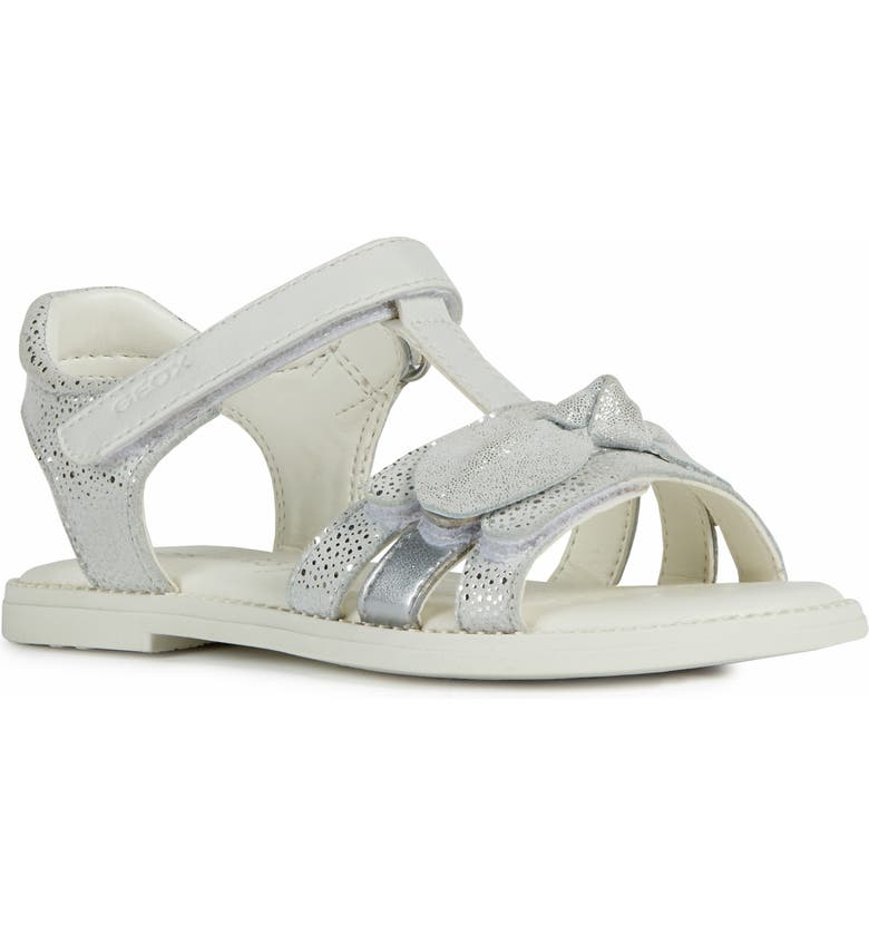 GEOX Karly 41 Sandal, Main, color, WHITE