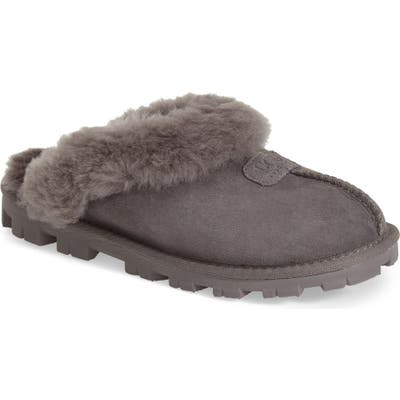 UGG Genuine Shearling Slipper, Grey