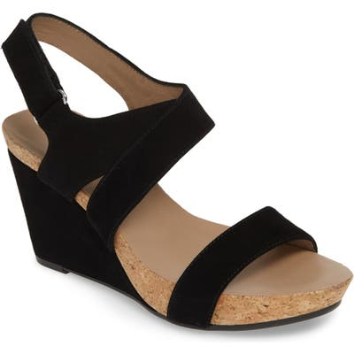 Bettye Muller Concepts Trent Slingback Wedge, Black