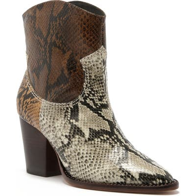 Schutz Haven Cowboy Boot, Brown