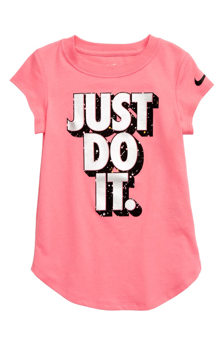 NIKE Just Do It Starry Night Graphic Tee, Main, color, 661