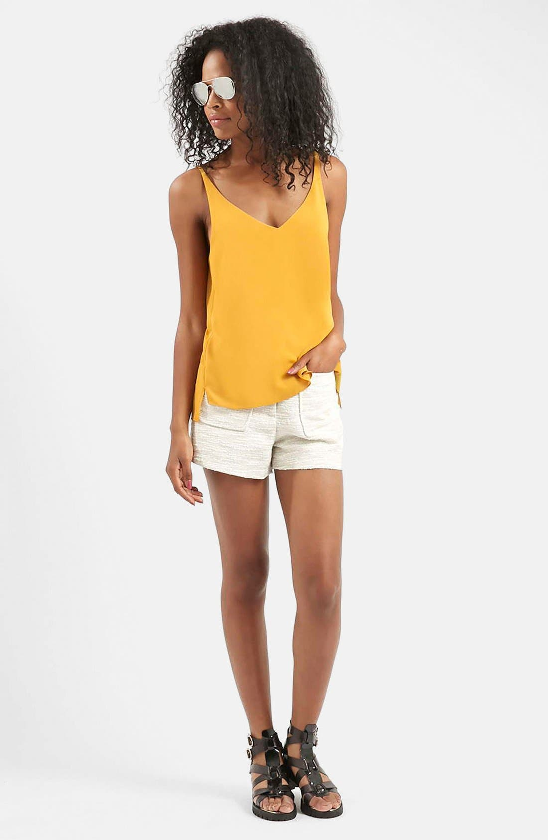 ,                             Strappy V-Neck Camisole,                             Alternate thumbnail 76, color,                             720
