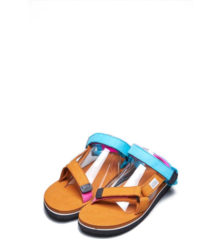 SUICOKE Depa-ECS Sandal, Main, color, TAN
