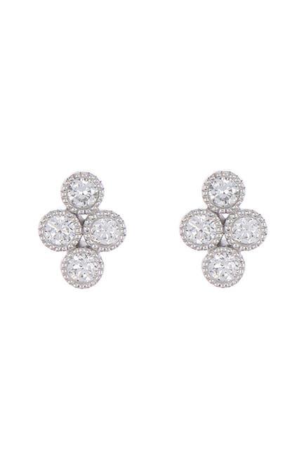 Image of Bony Levy 18K White Gold Mila Diamond Stud Earrings - 0.07 ctw