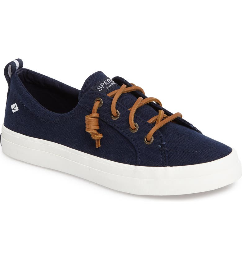 SPERRY Crest Vibe Sneaker, Main, color, NAVY  CANVAS