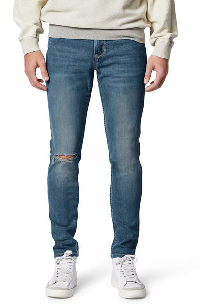 Hudson Denims ZACK RIPPED SKINNY FIT JEANS