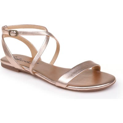 Splendid Susannah Strappy Sandal, Metallic