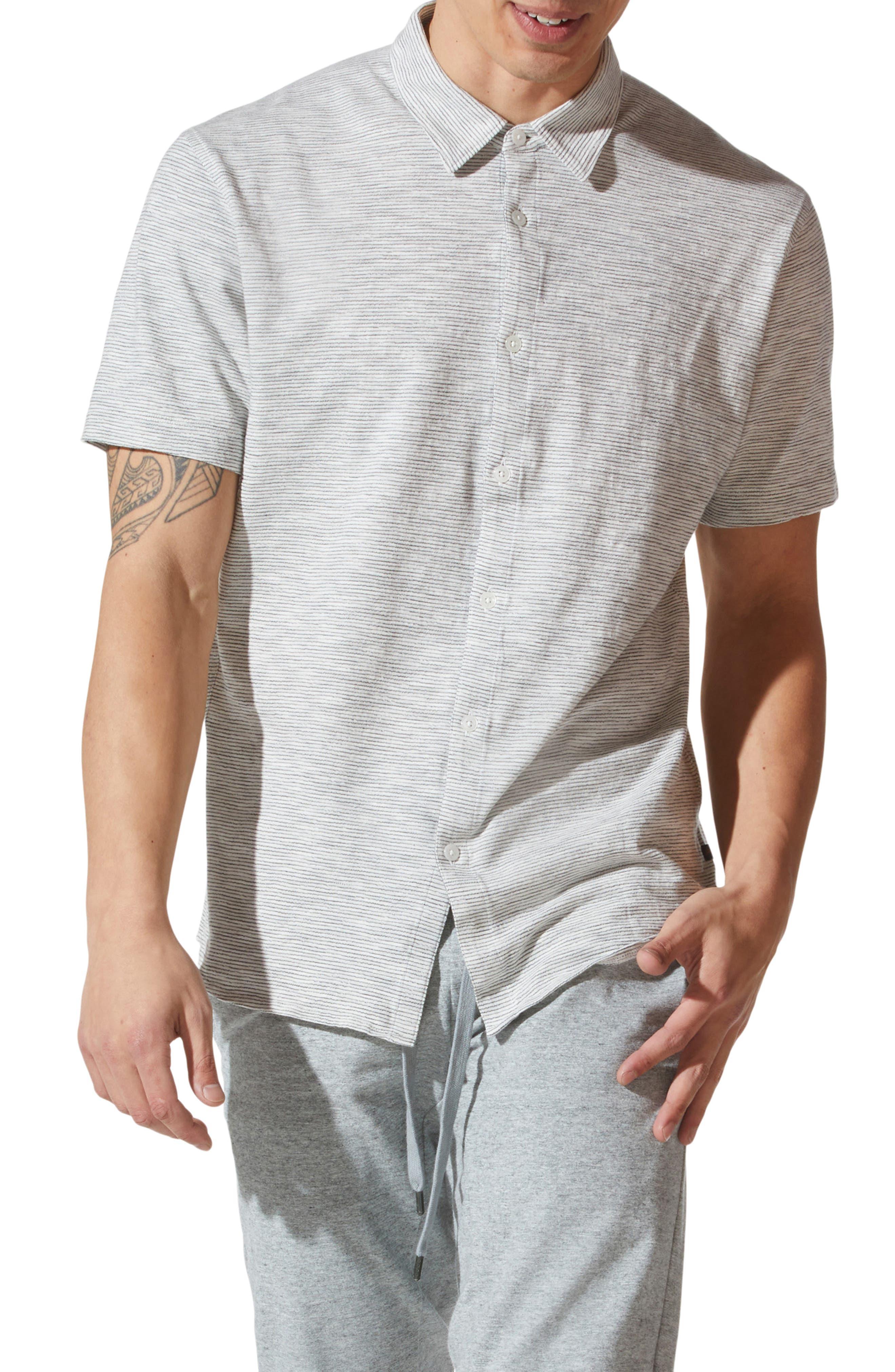 Shinjuku On-Point Short Sleeve Button-Up Shirt