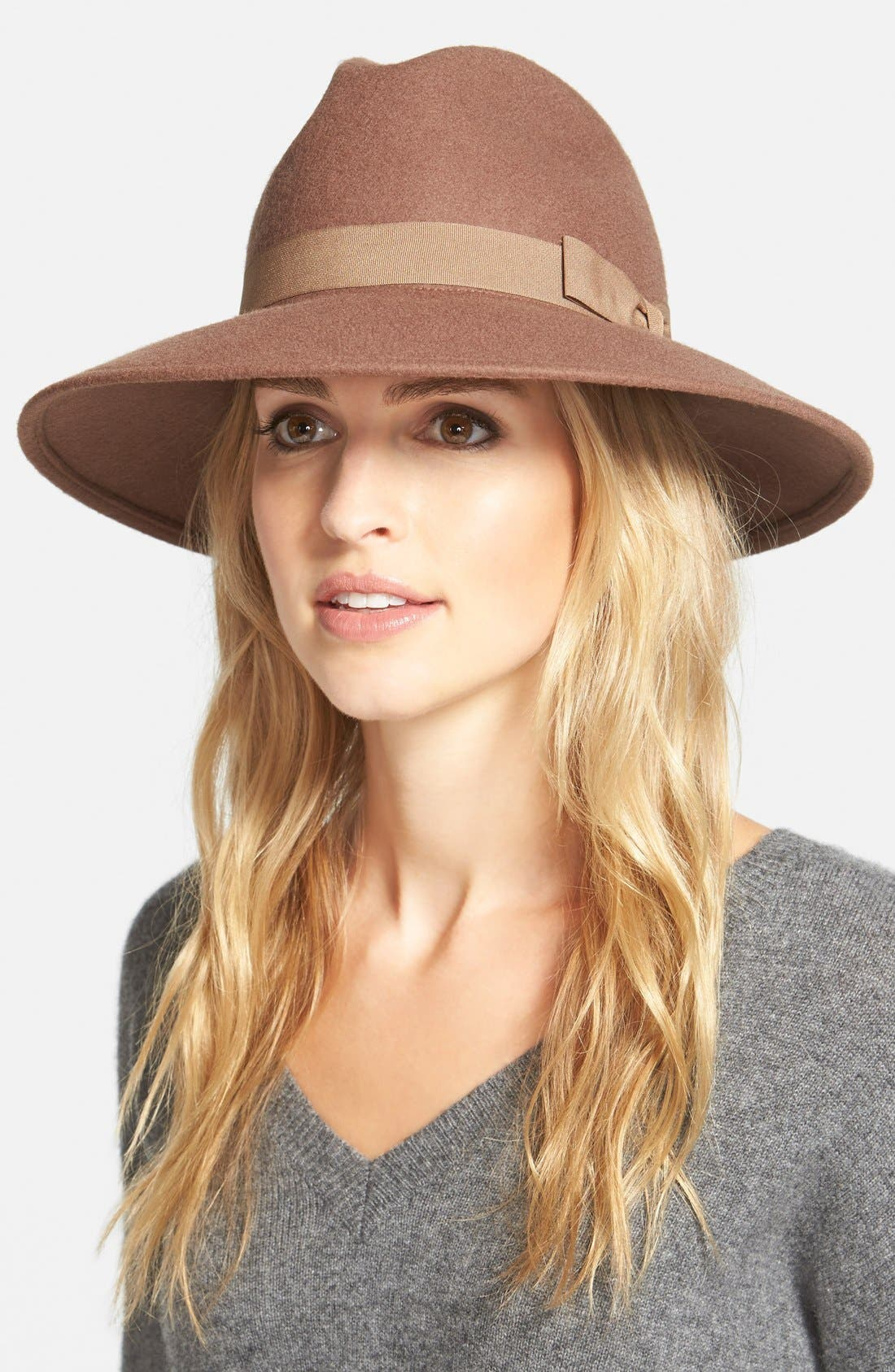 ,                             'Luxe' Felt Panama Hat,                             Main thumbnail 2, color,                             235
