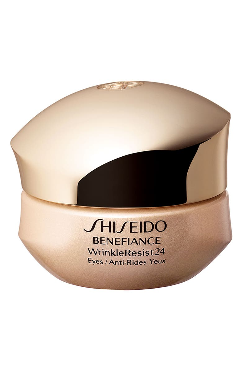 SHISEIDO Benefiance WrinkleResist24 Intensive Eye Contour Cream, Main, color, 000