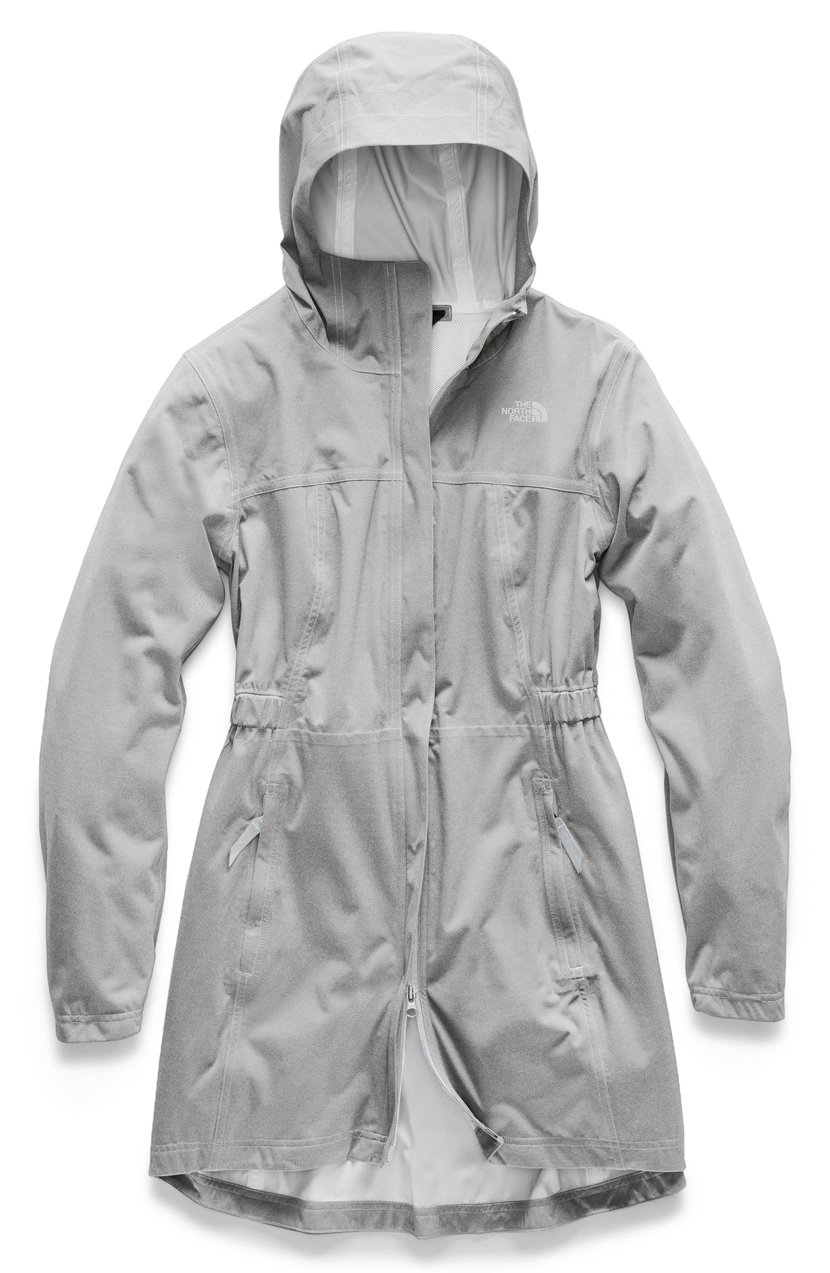 ,                             Allproof Stretch Parka,                             Main thumbnail 1, color,                             TNF LIGHT GREY HEATHER