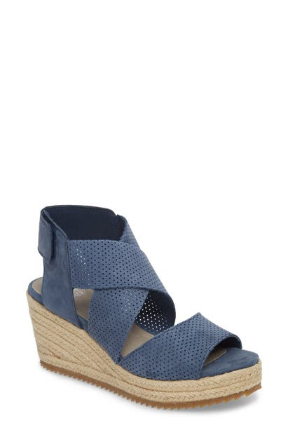 Eileen Fisher Sandals 'WILLOW' ESPADRILLE WEDGE SANDAL