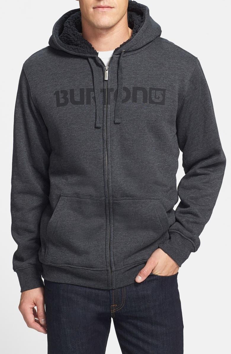 BURTON 'Fireside' Fleece Hoodie, Main, color, 046