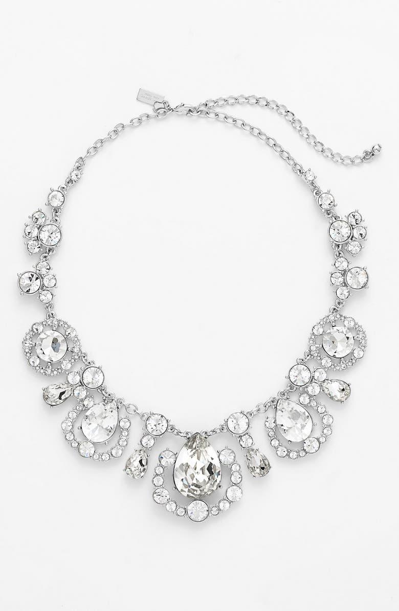 KATE SPADE NEW YORK 'grand debut' collar necklace, Main, color, 041