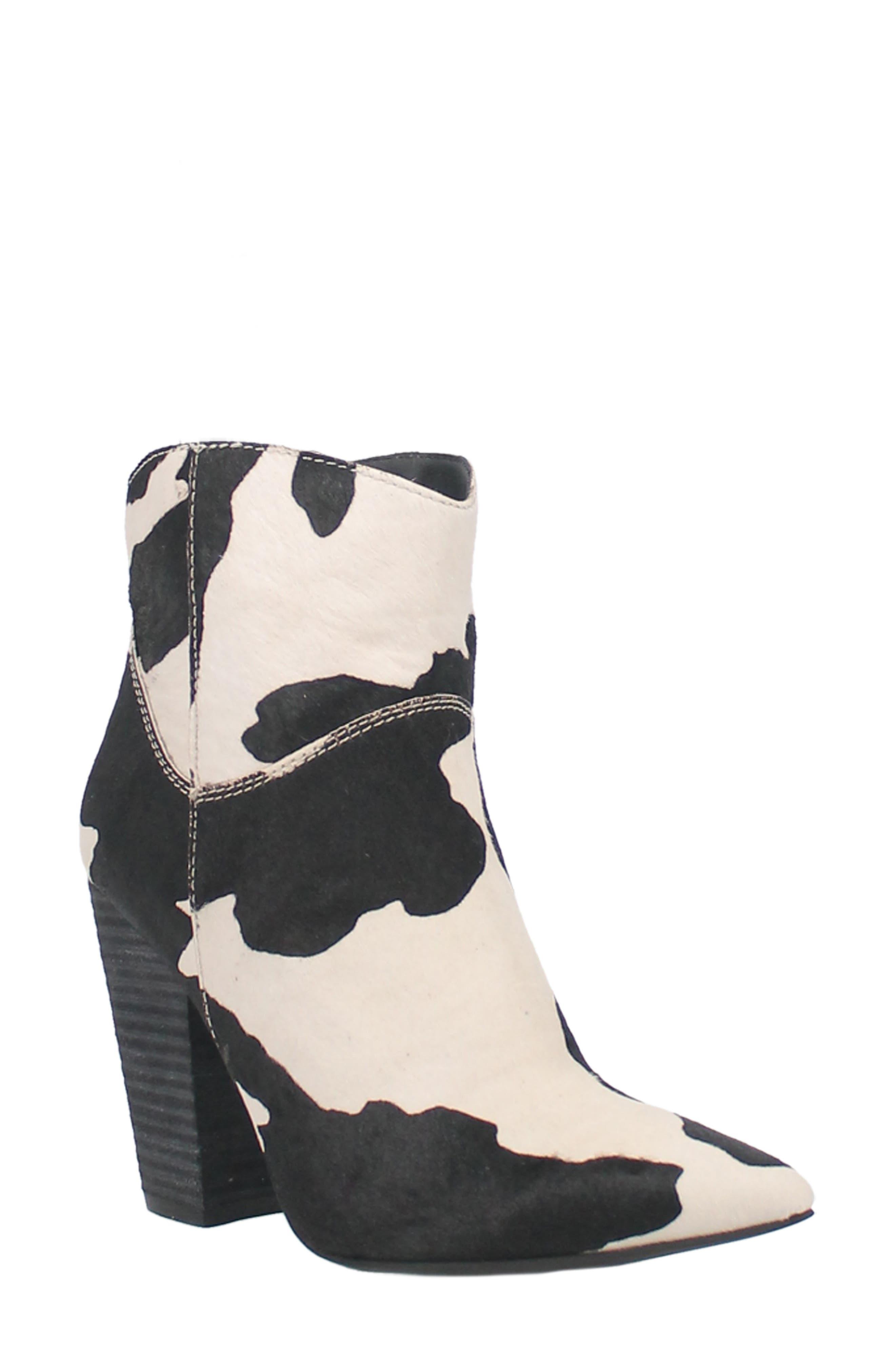 Mane Tamer Genuine Calf Hair Boot