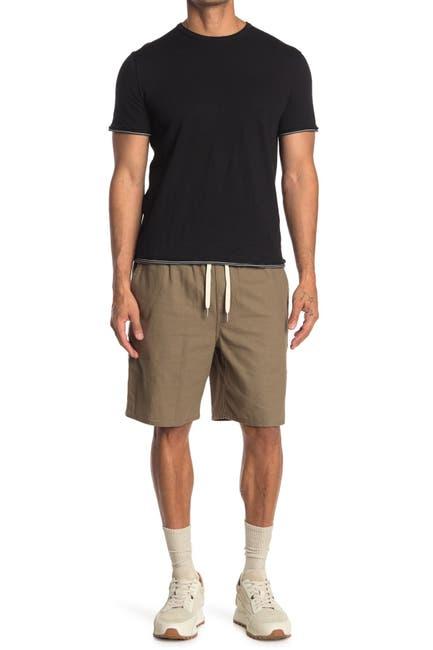 Image of Rag & Bone Reed Linen Blend Shorts