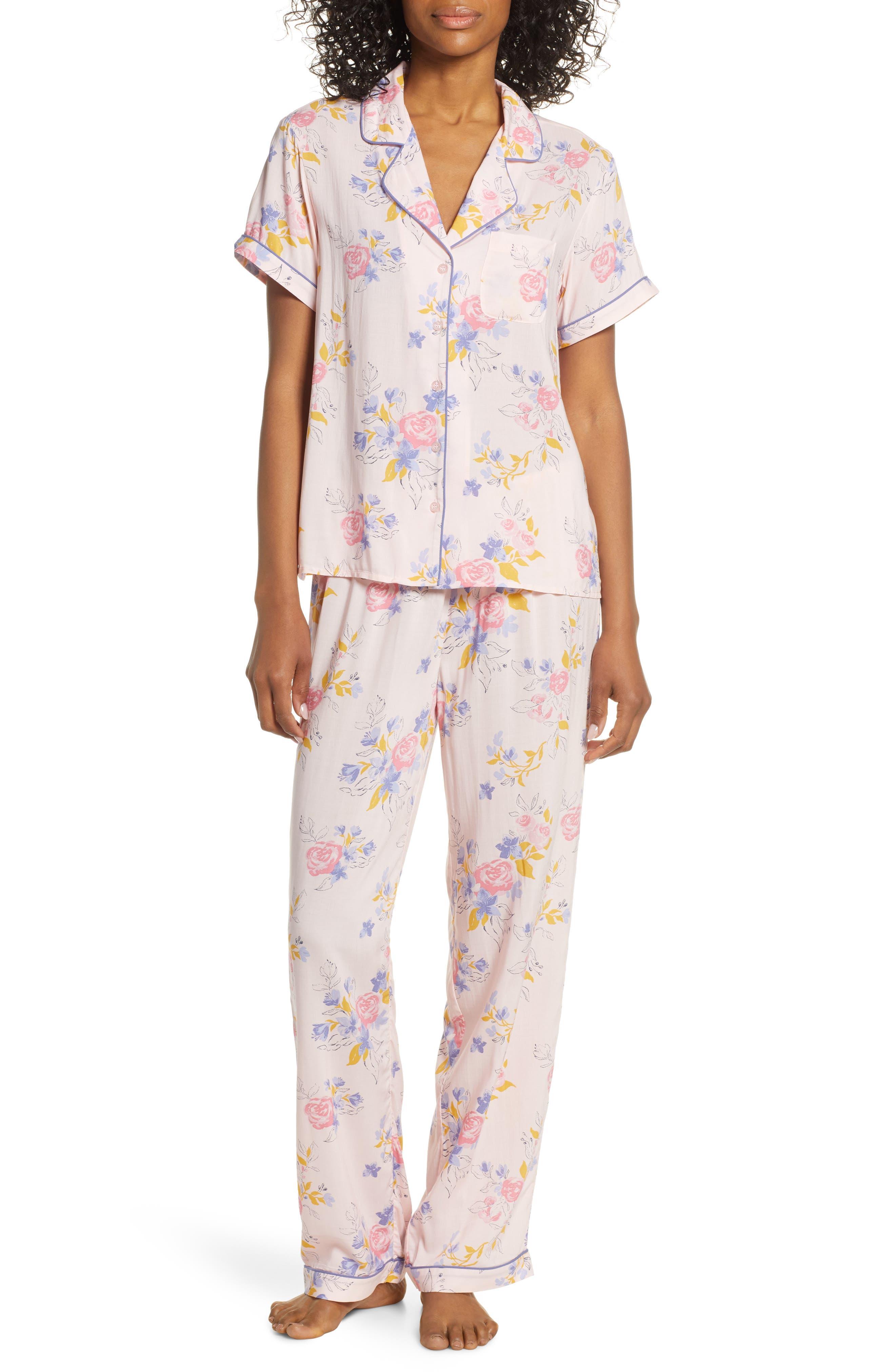Nordstrom Lingerie Sweet Dreams Pajamas, Pink
