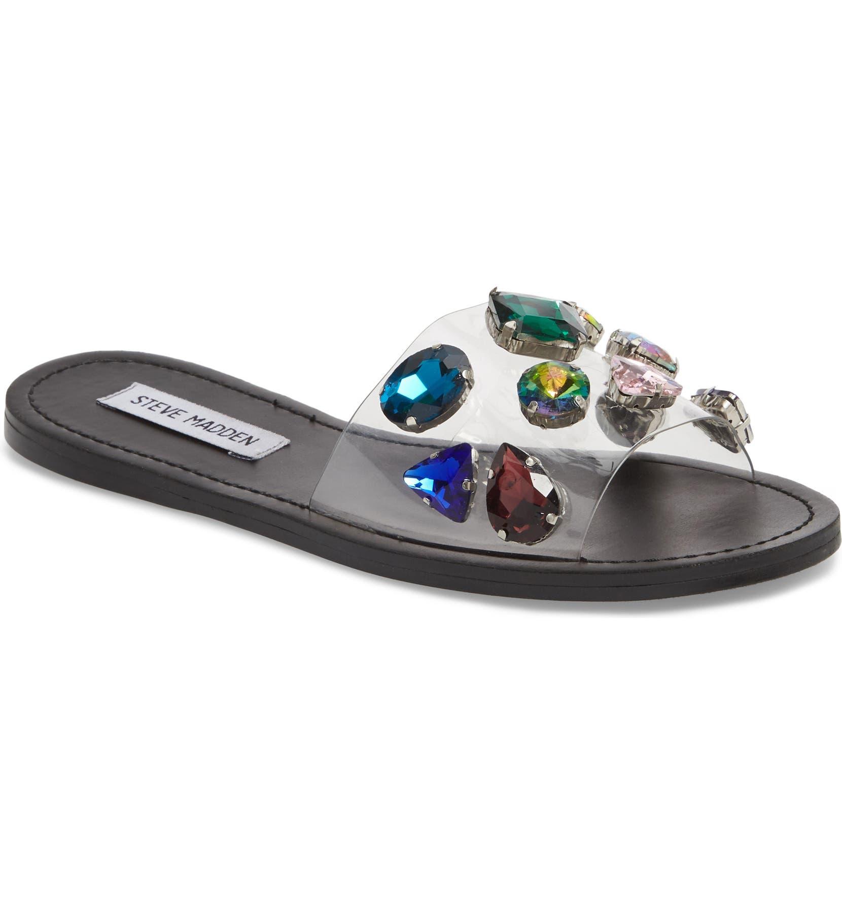 85935cb82a3 Rosalyn Embellished Slide Sandal
