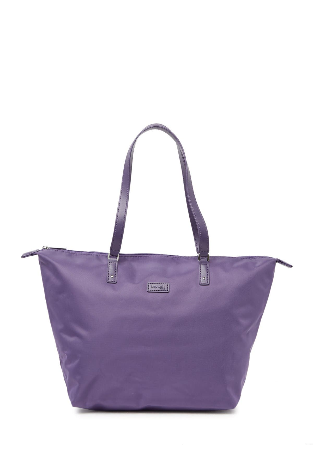 Image of Lipault Nylon Tote Bag