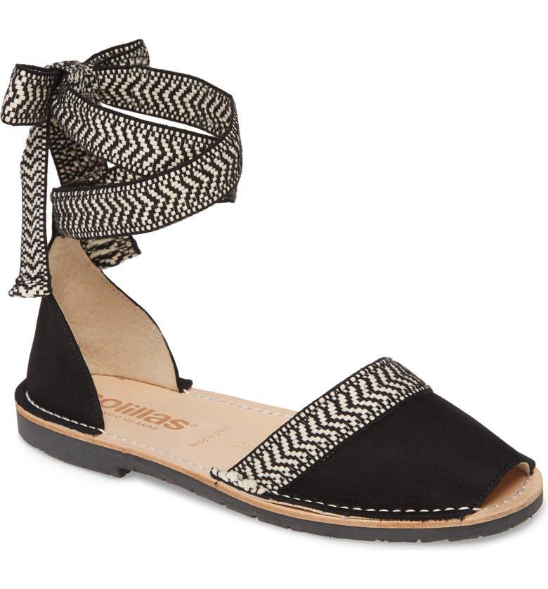 Solillas Habana Ankle Tie Sandal Women