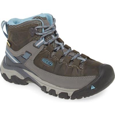 Keen Targhee Iii Mid Waterproof Hiking Boot, Grey