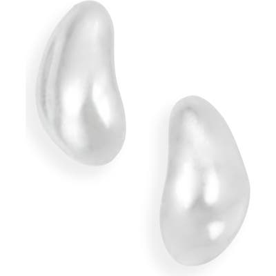 Sophie Buhai Small Sterling Silver Oyster Earrings