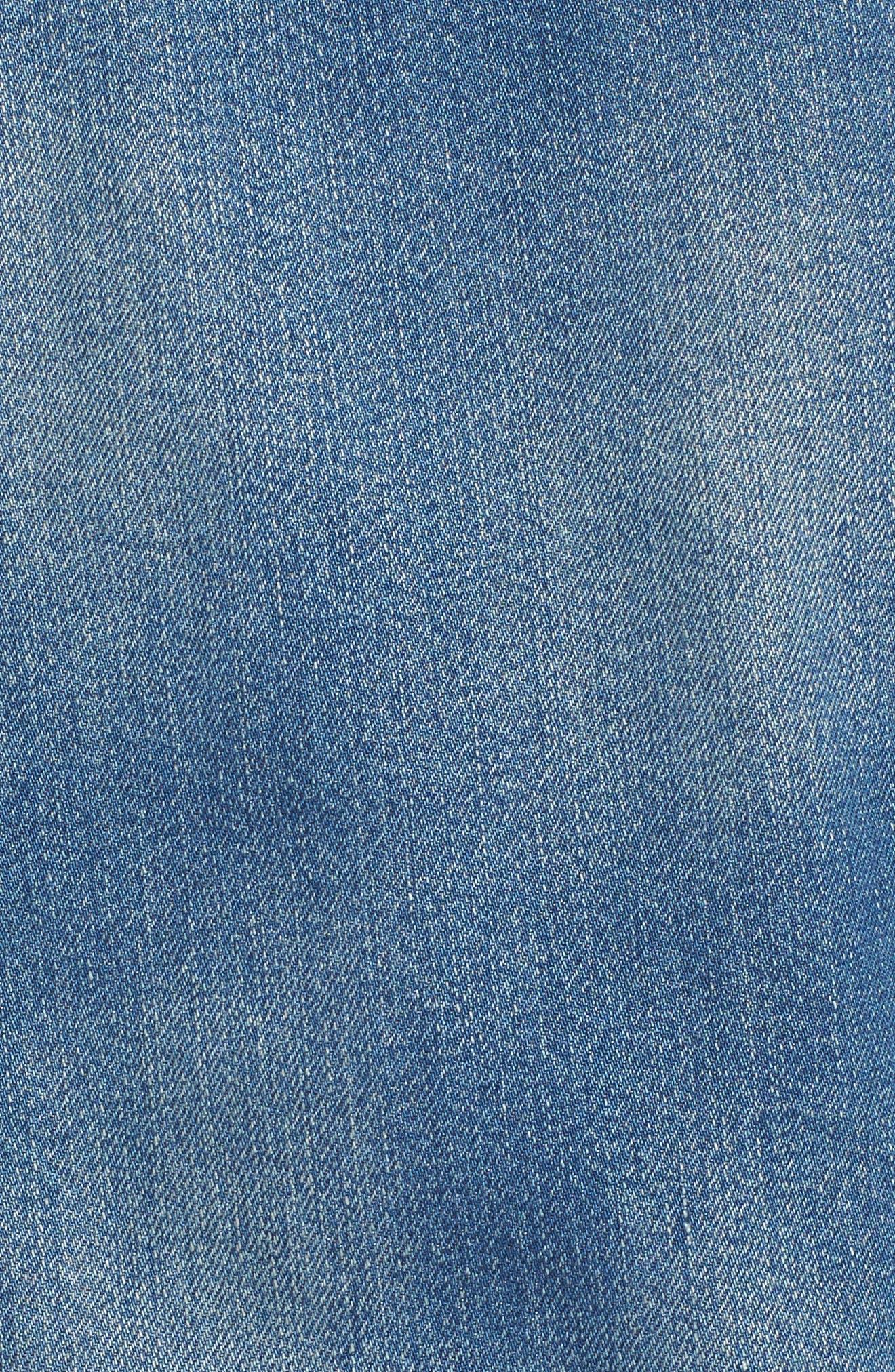 ,                             Denim Jacket,                             Alternate thumbnail 7, color,                             PINTER WASH