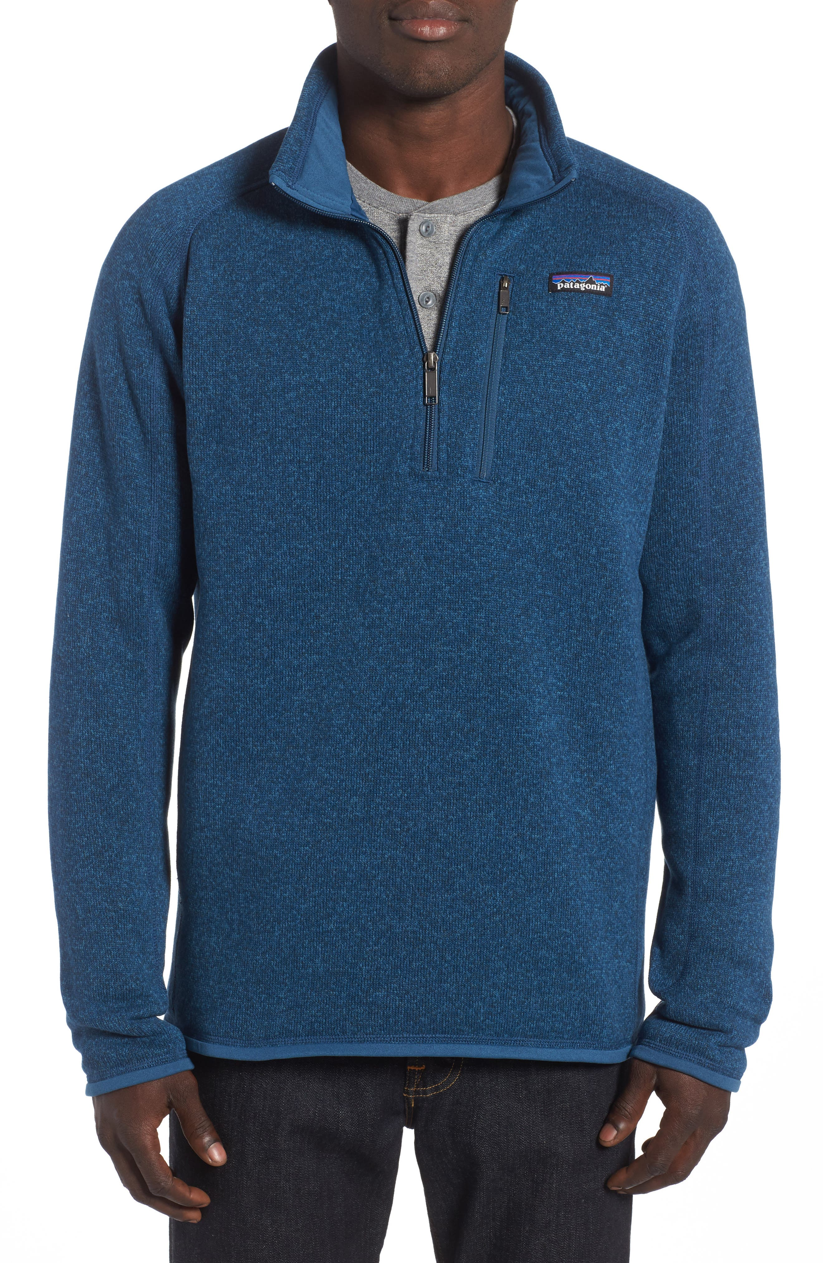 ,                             Better Sweater Quarter Zip Pullover,                             Main thumbnail 51, color,                             405