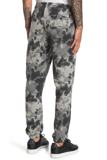 Image of The Narrows Tie Dye Print Rose Sweatpants
