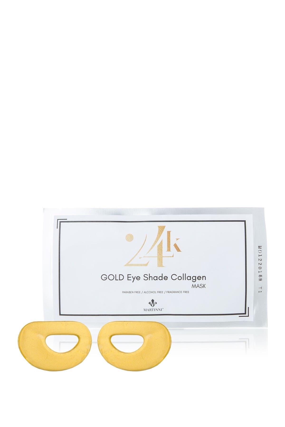 Image of MARTINNI MASKS 24K Gold Anti-Aging Collagen Eye Mask Treatments - Set of 3
