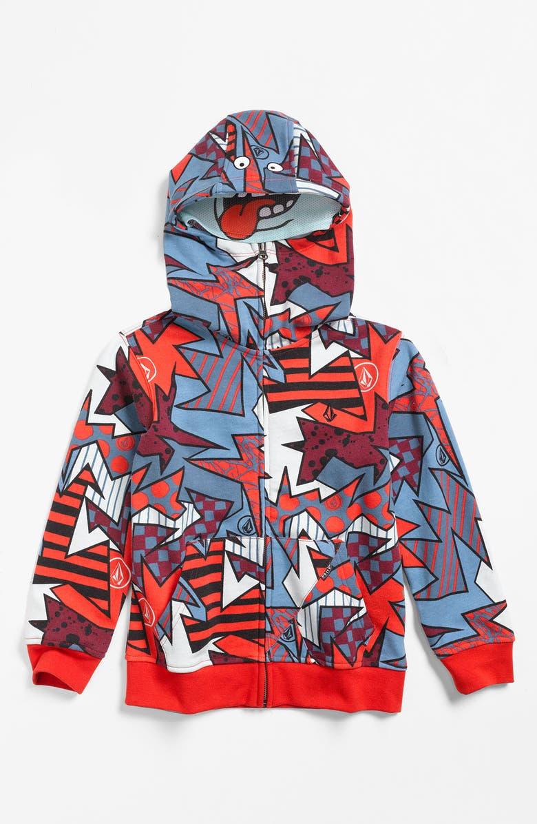 VOLCOM 'Magizzle' Full Zip Hoodie, Main, color, 600