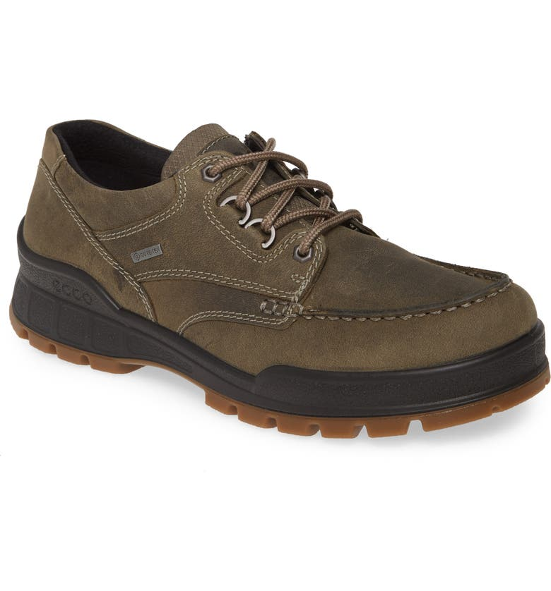 ECCO Track 25 Waterproof Moc Toe Derby, Main, color, TARMAC NUBUCK
