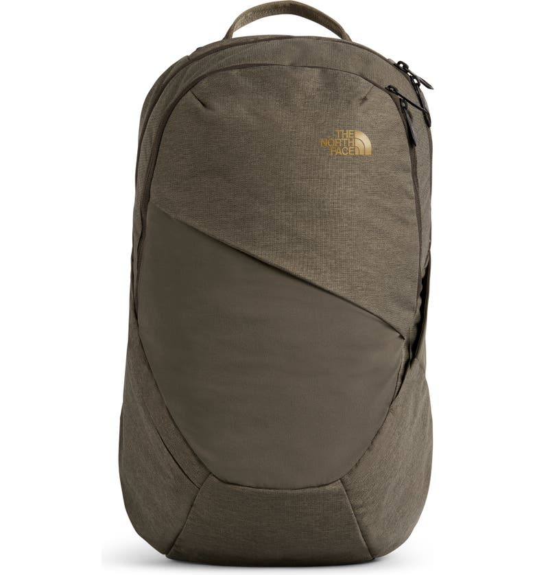 THE NORTH FACE 'Isabella' Backpack, Main, color, NEW TAUPE GRN LGT HTR/ BRIT KH