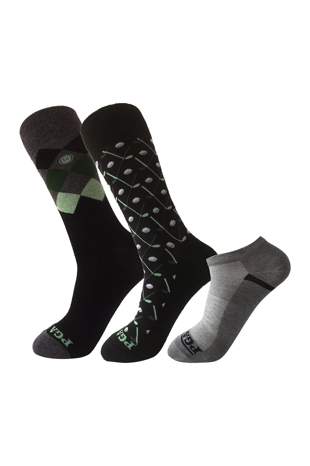 Image of PGA TOUR Gift Box Set - 3 Pack of Socks