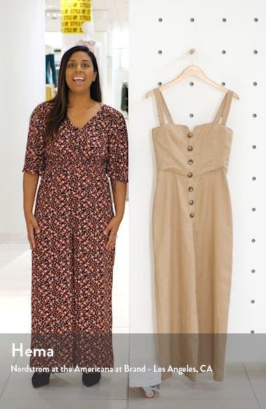 Kass Linen Jumpsuit, sales video thumbnail