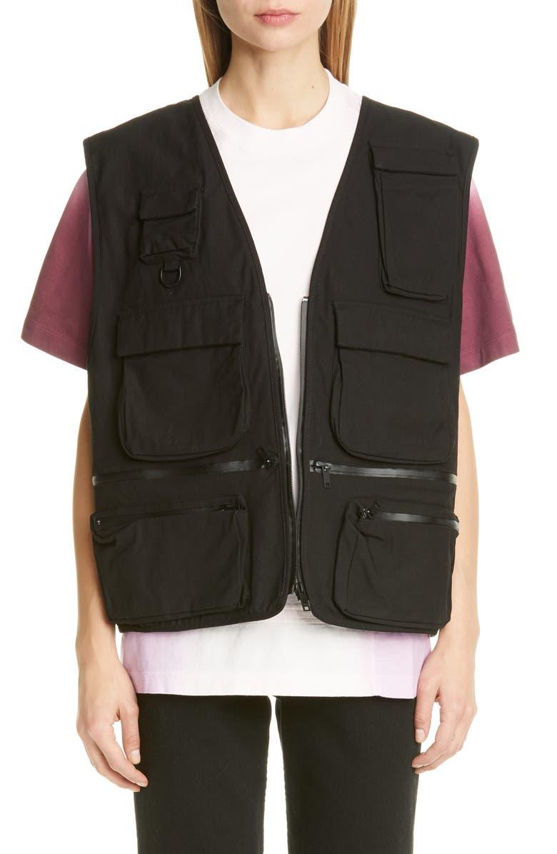 AMBUSH Multi Pocket Vest, Main, color, BLACK