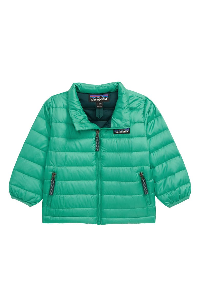 PATAGONIA Down Sweater Jacket, Main, color, PLGR PLAINS GREEN