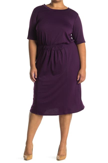 Image of Forgotten Grace Short Sleeve Smock Waist Dress